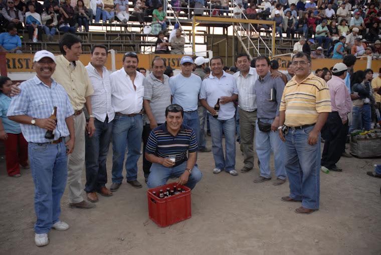 INTEGRANTES CENTRO TAURINO HUASAHUASI - COMISIÓN 2009