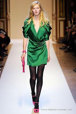 emanuel ungaro osen zima 2010 2011 Вечірні сукні (фото). Вечірні плаття від знаменитих Будинків Мод