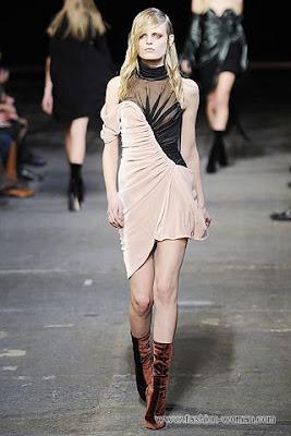 alexander wang osen zima 2010 2011 2 Вечірні сукні (фото). Вечірні плаття від знаменитих Будинків Мод