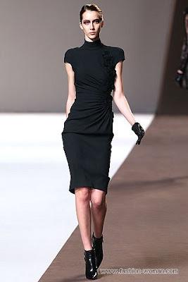 elie saab pret a porter osen zima 2010 23 Вечірні сукні (фото). Вечірні плаття від знаменитих Будинків Мод
