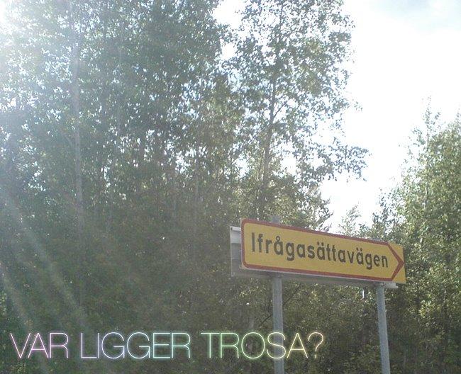 Var Ligger Trosa?