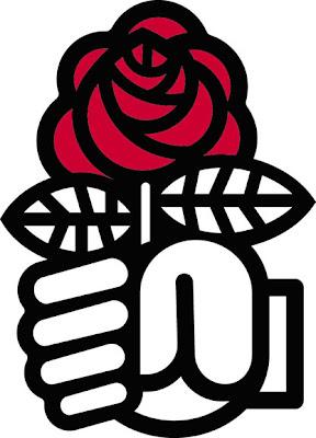 Logo du Parti Socialiste, Marc Borret (1969)