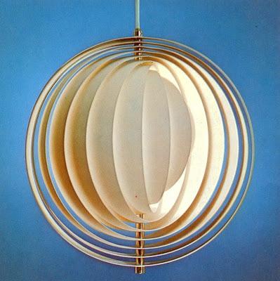Verner Panton - Moon-Lamp