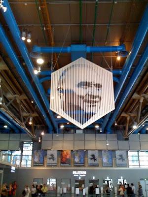 Portait de Georges Pompidou par Victor Vasarely