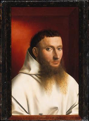 Petrus Christus - Portrait d'un chartreux