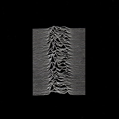 Peter Saville Unknown Pleasures