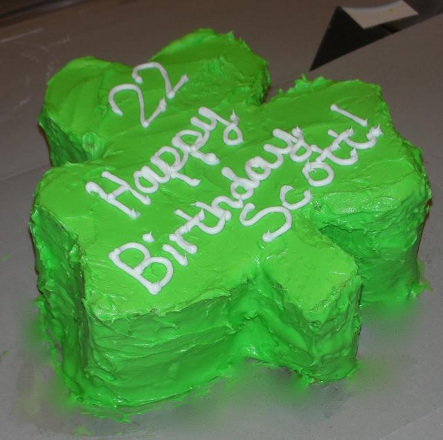 irish birthday cake images