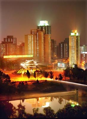Pyongyang de noche 07