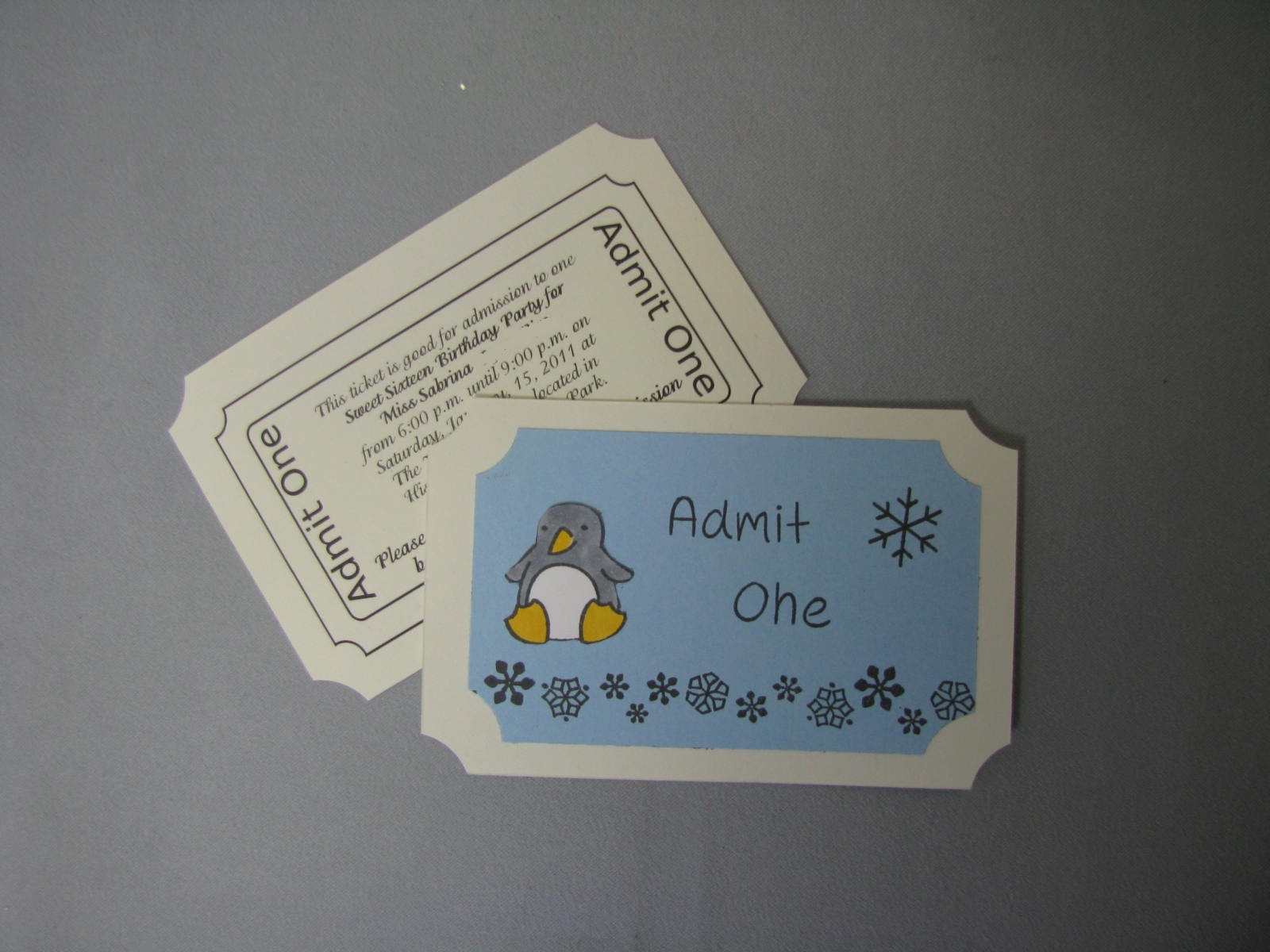 act admission ticket Personalize your own admission ticket with a special place or date idea to surprise your loved one.