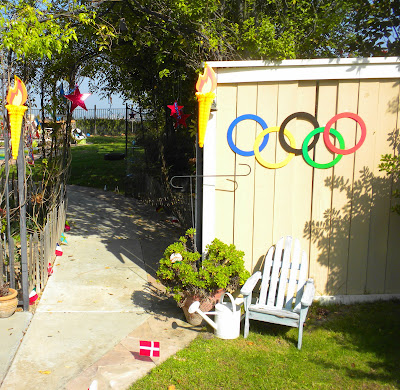 My little cottage in the making AN OLYMPIC THEME PARTY