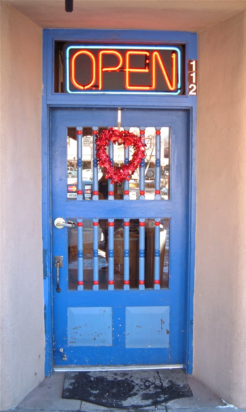 Two Graces Taos \u201cThe Secret of Taos Blue Doors\u201d Robert Cafazzo (copyright 2011) & Two Graces Taos: \u201cThe Secret of Taos Blue Doors\u201d Robert Cafazzo ...