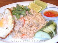 Khao Pad (Thai Fried Rice)