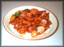 Scrunchy Sweet and Sour Chicken Recipe