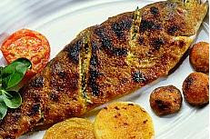 Grilled Golden Trout