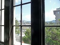窓から大文字山や比叡山を望む抜群のロケーション