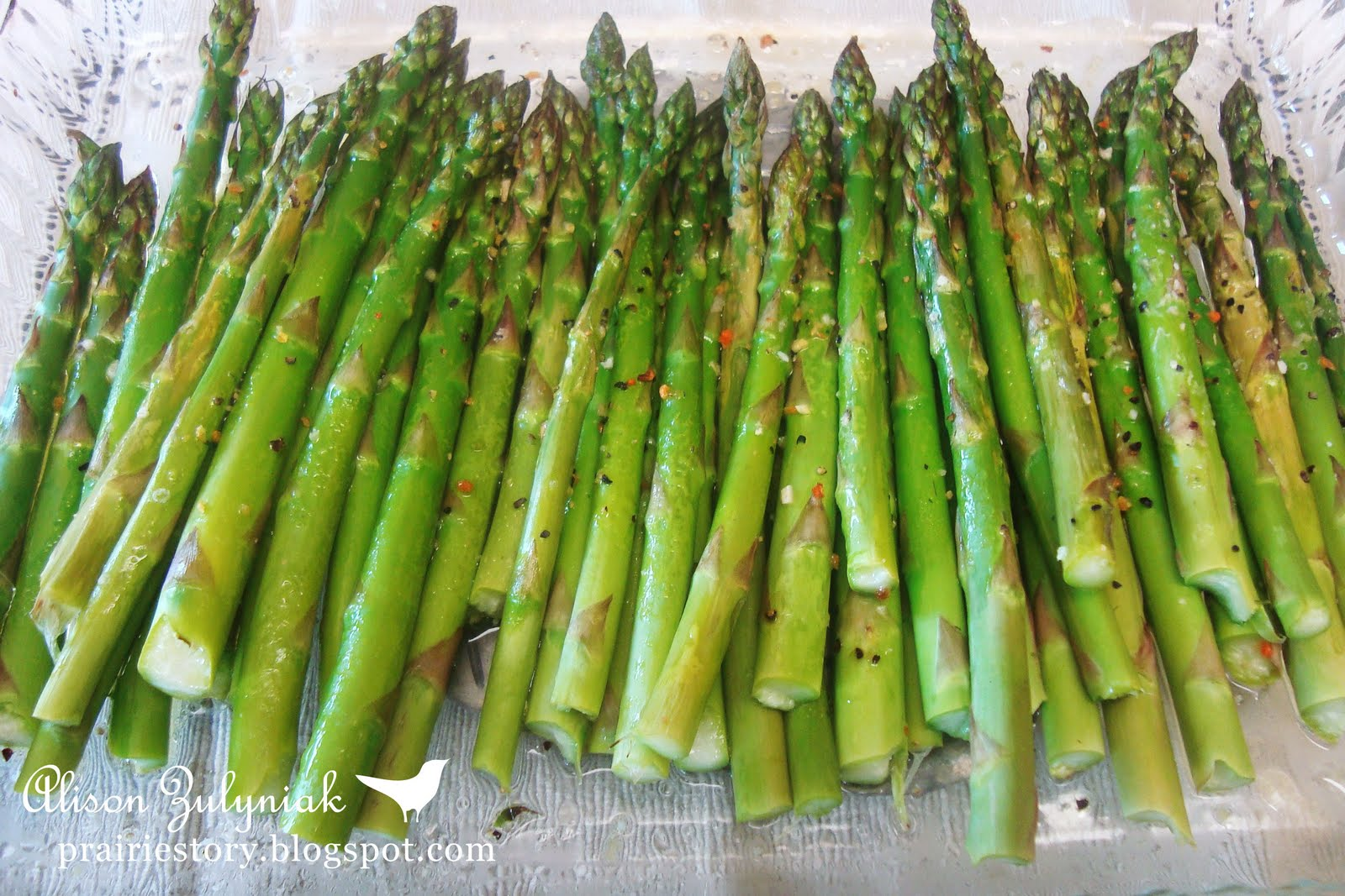 So simple, so easy, so good and so healthy! Asparagus has been in the ...