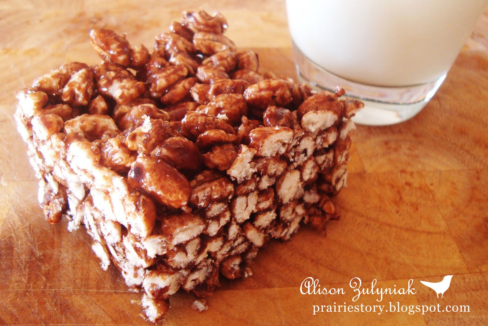 The Best Puffed Wheat Cake