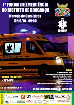 1º Forum de Emergência do Distrito de Bragança