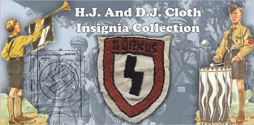 H.J. and D.J. Cloth Insignia