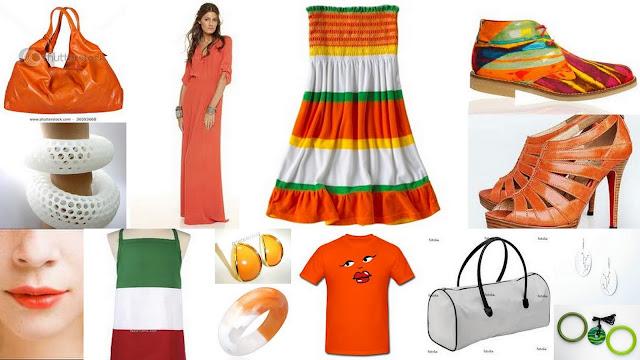 tri colour outfit