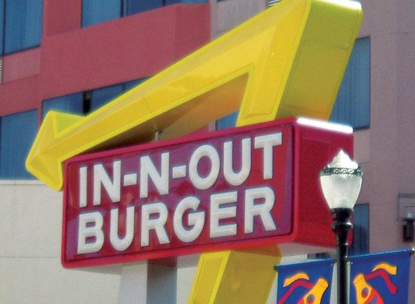 In n Out Burger v Joe s