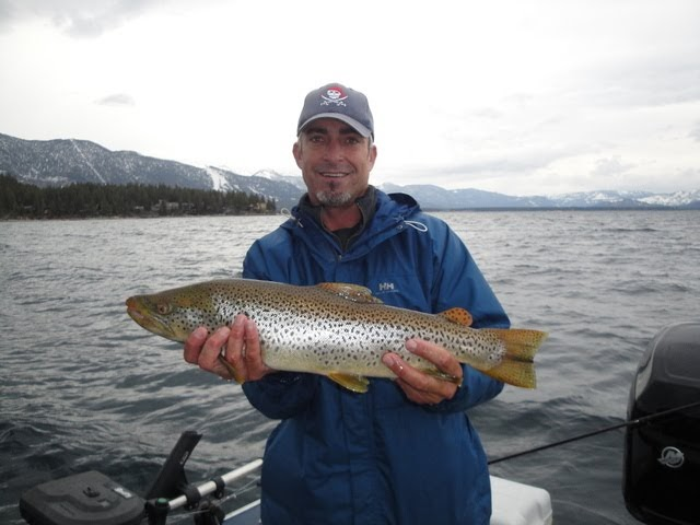 Bob 39 s sporting goods newsletter lake tahoe fish report for The fish sniffer