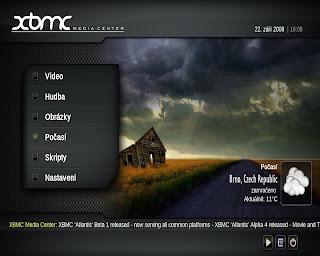 XBMC - kvalitní a jednoduchý media center