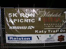 At the Katy Trail Run