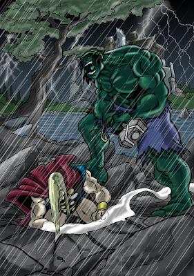 Watch The Throne Hulk
