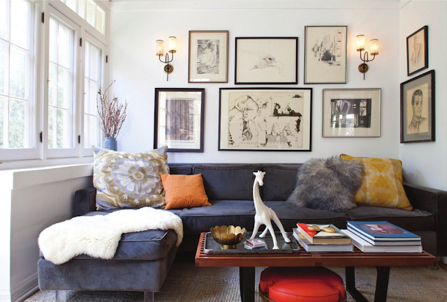 Wall Decor Ideas Behind Couch : Ideas for that wall behind the sofa kelly bernier designs