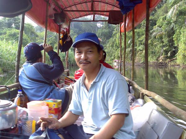 Berakit Memancing di Klang Gate Dam