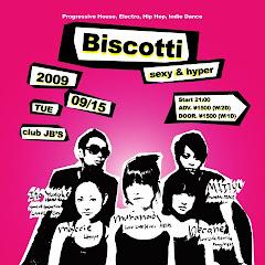 2009/09/15(火) Biscotti@名古屋club JB's
