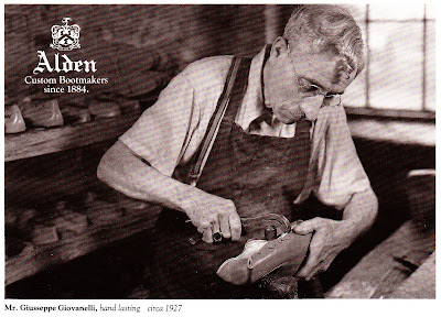 AldenMan1 Alden Custom Bootmakers Since 1884