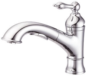 Danze D455040 Fairmont Pull-Out Kitchen Faucet