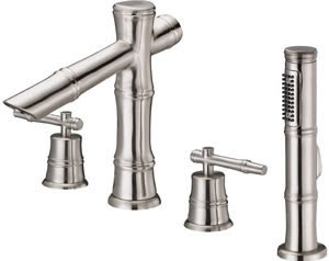 Danze D307745 South Sea Roman Tub Faucet With Soft Touch Personal Shower