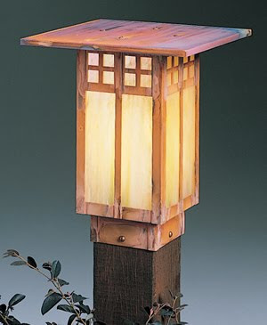 Arroyo Craftsman GPC-9 Glasgow Landscape Lighting Fixture