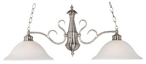 Hunter-Kenroy 91390BS Wynwood 2 Light Island Fixture