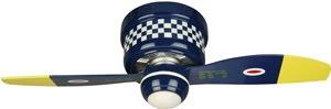 Craftmade WB242BS Black Sheep Warplane Ceiling Fan