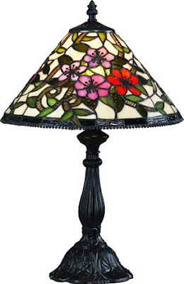 Z-Lite G12-3034 Accent Tiffany Table Lamp 1 Light Bronze