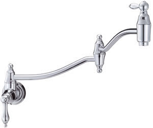 Danze D205040 Fairmont Wall-Mount Pot Filler Kitchen Faucet