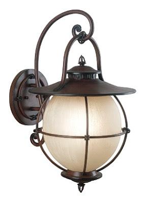 Kenroy Home 70272CML Vidalia Large Wall Lantern