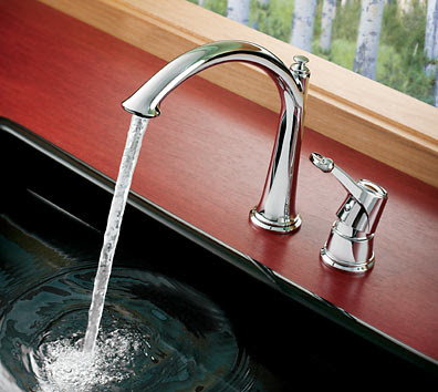 Moen S791 ShowHouse Savvy Single Handle High Arc Kitchen Faucet
