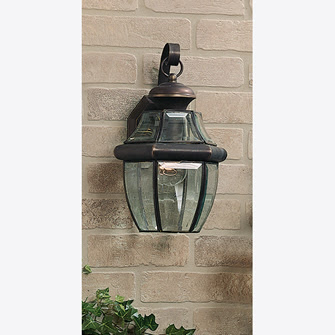 Quoizel NY8315Z Newbury Small 1 Light Outdoor Wall Mount Medici Bronze