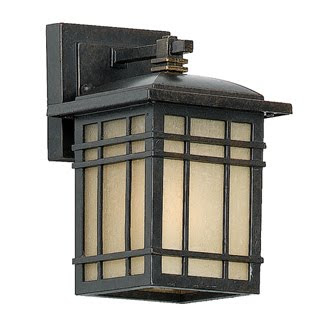 Quoizel HC8406IB Hillcrest 9 inch H Wall Mounted Outdoor Fixture