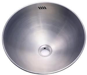 Kingston Brass KR16167BN Stainless Steel Double Layer Round Vanity Vessel Basin