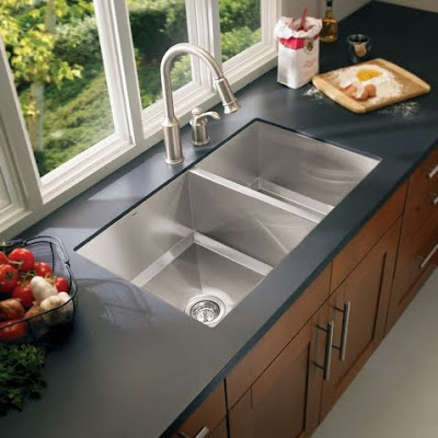 Moen 22379 Lancelot Stainless Steel 16 Gauge Double Bowl Kitchen Sink