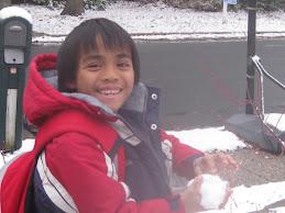 December snow '08