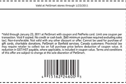 Petsmart Dog Hotel Coupon