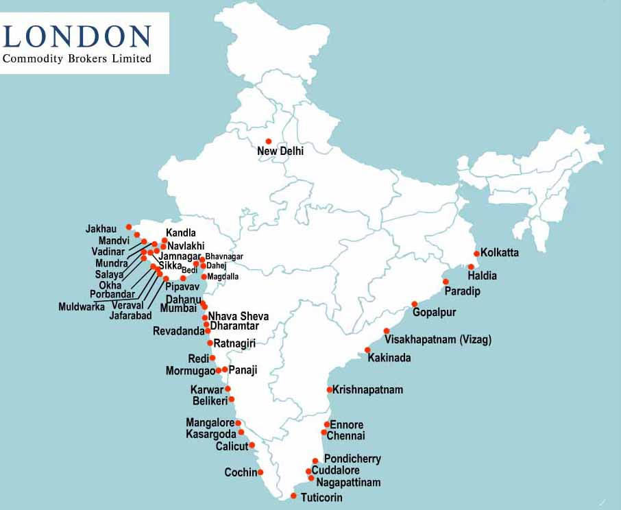 sea ports of india Port-to-port transit time analysis north america services to india  summary: as of oct 22, there are six services operating from north america to indiacombined, they offer services between 24.
