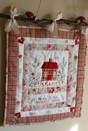 "Weekendquilt ""Home is the happiest place"""